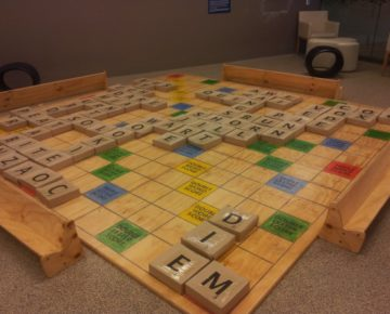 Giant Scrabble Board